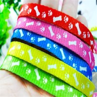 Wholesale Nylon Pet dog cat Leash Lead Collar puppy Harness Rope Pet Dog Pup Cat Lead Leashes Harness Chest Strap Dog supplies Small cm