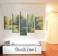 artists oil colors - Skilled Artist Handpainted Abstract Landscape Oil Painting On Canvas Beautiful Light Colors Chinese Ink Landscape Painting