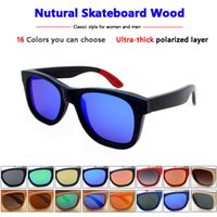 Wholesale High quality wood sunglasses for women men with polarized lens and metal spring hinge gafas de sol mujer hombre