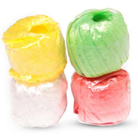 Wholesale New Fashion Rolls pack Colored Plastic Rope Packaging Rope for Gift Boxes Cake Cookie Raffia Ribbon