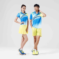 Wholesale Kawasaki New High Quality Genuine Breathable Badminton Sport T shirts Quick Dry Polyester Outdoor Lovers ST