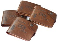 ap photos - New Men s Boys Classic Leather Pockets Credit ID Cards Holder Purse Wallet AP Color Coffee