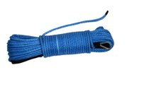 Wholesale Blue Winch Cable for Offroad Parts ATV UTV Winch Line Synthetic Rope for Winch Accessary
