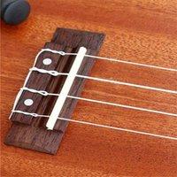 Wholesale 4pcs Set Stable White Ukulele Strings Guitar Nylon String Inch Universal