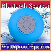 Cheap Bluetooth Speaker Waterproof Wireless Shower Handsfree Mic Suction Chuck Speaker Car Speaker Portable mini MP3 Super Bass Call Receive A-YX