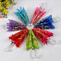 Wholesale wedding party decoration lace umbrella Mini Trumpet lace umbrella DHL Fedex