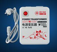 Wholesale 2000W v v to v v Step down transformer Voltage Converter Transformer Converts