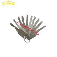 auto lock pc - Pick Lock tool locksmith tool lock pick Jigglers for Double Sided Lock