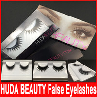 Wholesale 20 types Huda Beauty False Eyelashes Messy Cross Thick Natural Fake Eye Lashes Professional Makeup Bigeye Eye Lashes Handmade