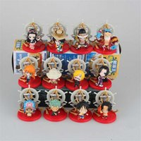 ace settings - Anime One Piece Luffy Sanji Zoro Nami Robin Brook Ace set Brinquedos PVC Action Figure Juguetes Figuras Doll Kids Toys