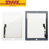 Wholesale For Apple iPad iPad rd th Gen Touch Screen Digitizer Sensor Outer Glass Black White Repair Parts