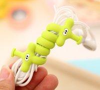 Wholesale YYYYAAAA Various animal lovely finishing headphone cable power line table clean cartoon