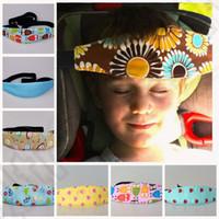 Wholesale 12 color KKA87 Unique Safety Car Seat Sleep Nap Aid Kids Head Support Holder adjustable belt Car Seat Elastic Band Protect Belt