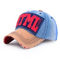 adult websites - HTML Website Letter Patterncasual style cotton denim adjustable faux leather suede peak sport baseball caps hat for men women