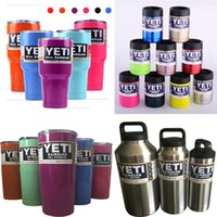 beer ship - Hot Sale oz oz oz color YETI Cups Stainless Steel Insulation Cup Cars Beer Mug Large Capacity Mug Tumblerful