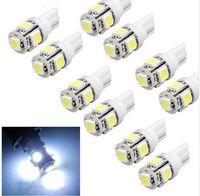 Wholesale 50pcs New Hot T10 Wedge SMD Xenon Car LED Light bulbs W5W Cool White