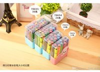 Wholesale Stationery Sets Coarse headband thick shaft stamp watercolor pen Washable Graffiti marker paintbrush colors
