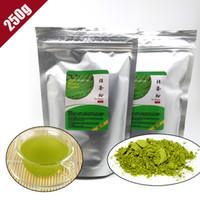 al por mayor el té verde calidad-ShineTea 250g Polvo orgánico natural del té verde de Matcha del 100% que adelgaza el alimento de la pérdida de peso de Matcha DIY del té de calidad superior