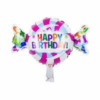 balloon shops - 30pcs Anagram Happy Birthday Sweet Shop Foil Balloons Cartoon Design Candy Balloon Kid s Birthday Party Supplies
