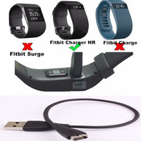 Wholesale 30cm USB Charger Charging Cable For Fitbit Charge HR Smart Wristband Replacement for lost or damaged cables