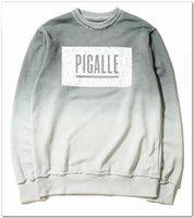 b sweatshirt - 2016 US hip hop kanye west pigalle basketball B men unisex cotton pullover sweatshirt in grey CH38