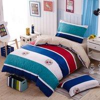Wholesale British rhythm cotton Semi active printing bedding sheet
