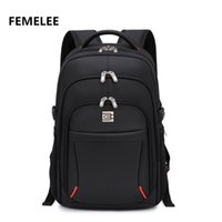 Wholesale Hot selling male Nylon Compact laptop backpack classic men s mochila and business travel bag grey school bag