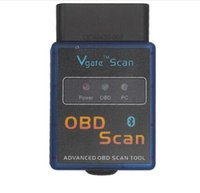 advanced connector - 2016 best quality ELM327 Vgate Scan Advanced OBD2 Bluetooth Scan Tool Support Android and Symbian