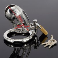 Cheap A951 new arrival 28mm diameter 58mm length stainless steel super small chastity device small cock cage