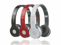 apple sound cards - Hot style White magic sound s450 bluetooth headset stereo sport mp3 card wireless headset Manufacturers