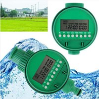 automatic farm systems - Home garden farm Automatic Electronic Water Timer Irrigation Controller Digital Intelligence Watering System LCD Waterproof