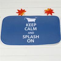 bathtub non slip - Small Bathtub Bath Mats Polyester Coral Fleece Rectangle Cartoon Non slip Bathroom Bedroom Carpet Home Mat
