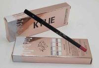 Wholesale 2016 HOT NEW Kylie jenner Velvetine Matte Lipstick Lip Pencil color High quality Makeup Lip Liner Christmas Gift for Women