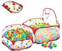 Wholesale hot sales baby M Foldable Kids Children Educational Ocean Ball Pit Pool Game Play Outdoor Indoor ful portable Toys Tent