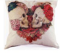 Wholesale 2016 Cotton pillow cover Giraffe cotton pillow cover cushion cover elk owl cm