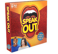 Wholesale 2016 brand new Speak Out Game KTV party Game Christmas Toy Game cards fast shipping by dhl