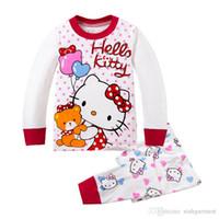 al por mayor juego de winx-6 juegos de las muchachas de las muchachas traje de la historieta de la historieta pjs de los cabritos fijados pijamas de ninos minnie del pijama del winx del gatito