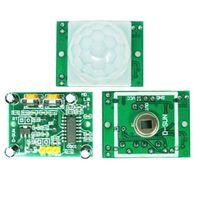 Wholesale 1Pc IR Pyroelectric Infrared IR PIR Motion Sensor Detector Module HC SR501 B00053 CADR