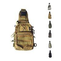 Wholesale S5Q Men s Casual Shoulder Military Tactical Backpack Camping Travel Outdoor Travel Bag AAAFWF