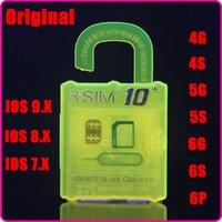 Wholesale Official R SIM rsim10 RSIM Thin sim Card unlocking for Ios9 X X X For iPhone S s s Sprint AU Softbank s direct use