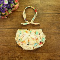 ashion clothes - 2016 F ashion baby Costume baby clothing hotsell summer short bloomer in different color with cute headband