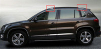 auto rack cars - For Volkswagen Vw Tiguan Car Styling Roof Rack Trim Cover Auto Accessories Stainless Steel