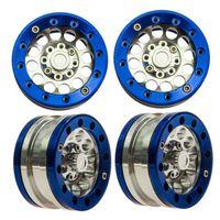 alloy truck rims - 4pcs High Quality Alloy Metal Aluminum inch Beadlock Wheel Rims For RC Truck Rock Crawler Climbing Car RC4WD SCX10