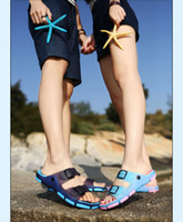 Wholesale Men Slippers Sandals In Summer Sandals Couples Antiskid Flip Flops Shoes Mens And Womens Beach Slippers