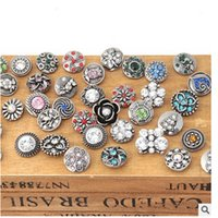 Wholesale Europe selling mm noosa clasp bracelet jewel puzzle button factory price