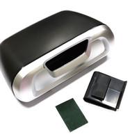auto garbage cans - Mini Auto Car Trash Rubbish Can Garbage Dust Case Holder Box Bin Black Silver W045
