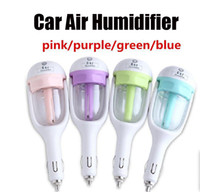 Wholesale Nanum Car Plug Air Humidifier Purifier Air Cleaning Vehicular essential oil ultrasonic humidifier Aroma mist car fragrance Diffuser