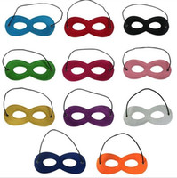 Wholesale Felt Kid s Super Mask with Any Color for Part Costume For Children Halloween Christmas Party Mask Kids Party Masquerade Mask Party Eye Mask
