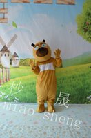 big bear music - Big Bear Bear two cartoon mascot costume adult size mardi gras masquerade costumes Halloween costume EPE head x Christmas