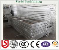Wholesale Metal Plank Steel walk board Scaffolding Hook Plank for scaffolding system factory with hook